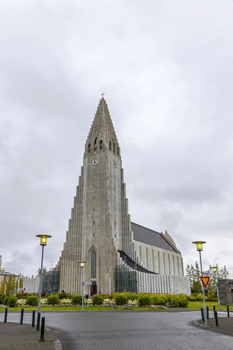 Hallgrimskirkja Cathedral in Reykjavik, Iceland Photo