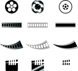 Film pack Vector
