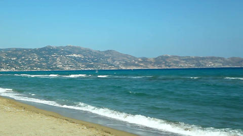 Greece. Beautiful sea coast GIF