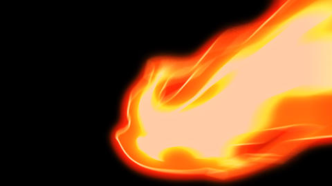 7 Cartoon Fire Elements Loopable - Motion Graphic CG動画素材
