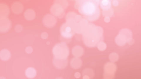 Pink bokeh abstract background Animation