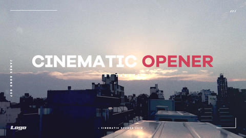 Cinematic Opener Premiere Pro Template