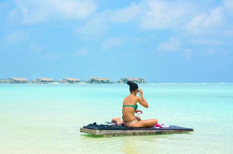tropical beach Maldives フォト