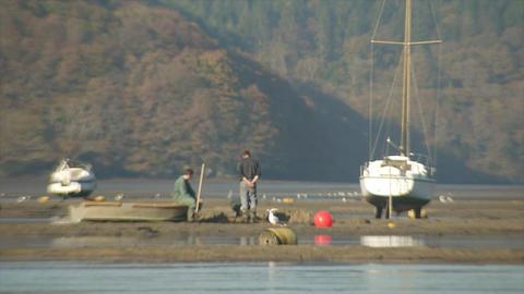 Sandbank fishermen ビデオ