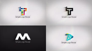 Clean And Simple Logo Reveal After Effects Template