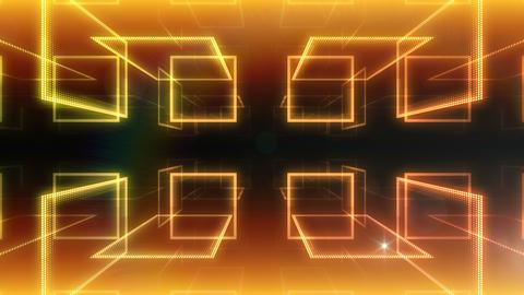 LED Room 2 B AaF2 4k CG動画素材