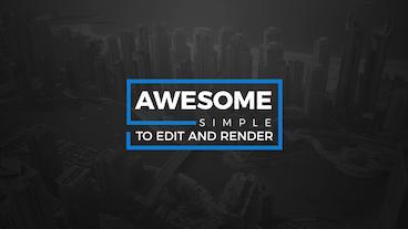 50 Modern Titles 2 After Effects Template