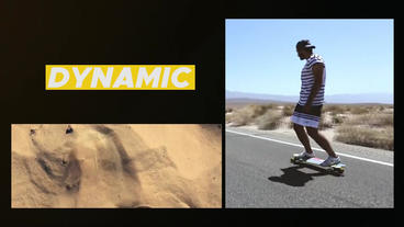 Dynamic Slideshow Premiere Proテンプレート