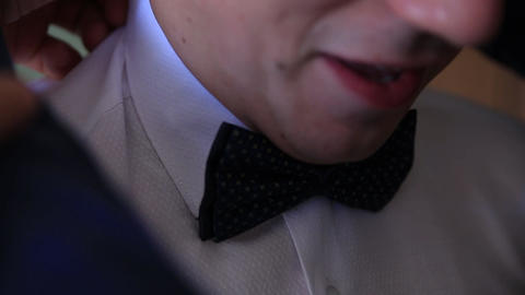 Groom, wedding, set the bowtie straight Live Action