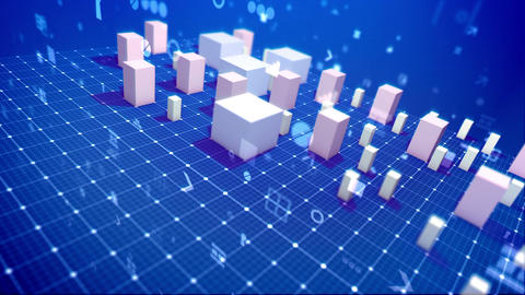 Rising rectangular and cubic economic indexes Animation