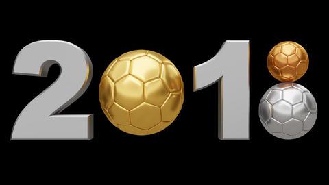 Soccer 2018 v1. Looped Animation