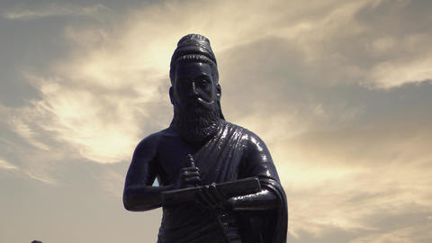 Thiruvalluvar Statue at Chennai Live Action