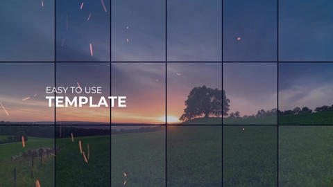 Mosaic Slideshow Premiere Pro Template