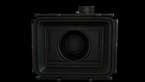 Two High quality transition videos of video camera in 4K Resolution Animation