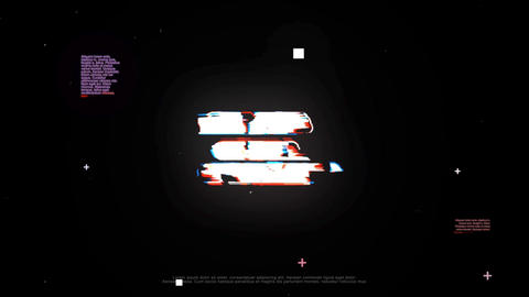 Glitch Logo After Effects Template