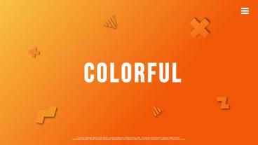 Colorful Slideshow 애프터 이펙트 템플릿