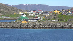 Europe Norway Honningsvåg at North Cape colorful houses in a remote district GIF