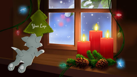 Short Christmas Animated Cards AE Progect 0