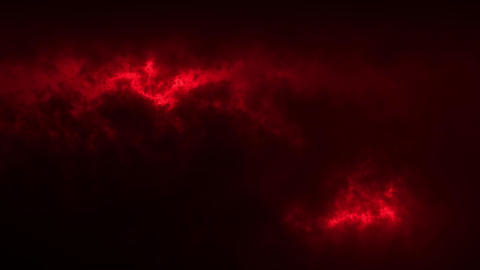 Red Sci-Fi Sky Clouds Loopable Motion Graphic Background