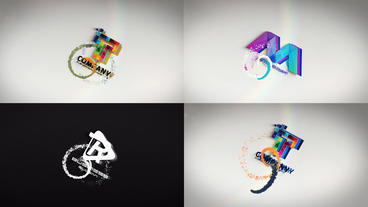 Clean And Simple Lines Logo Reveal Pack Plantilla de After Effects