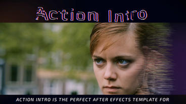 Action Intro Plantilla de After Effects