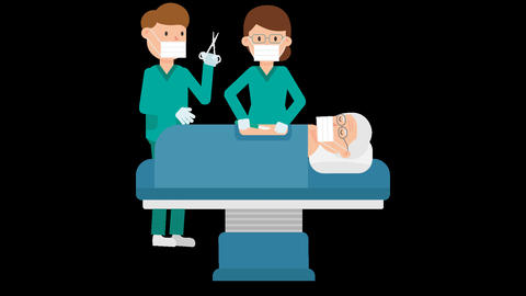 Patient Operation Loop Animation
