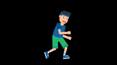 Man Jogging Animation