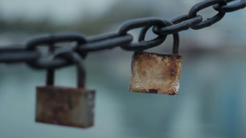 Lock and chain GIF