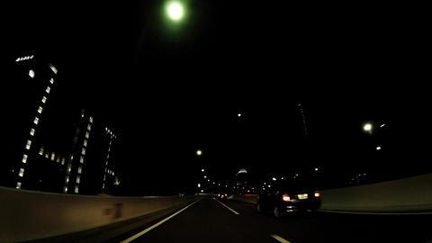 Tokyo cityscape, car window around Odaiba image ビデオ