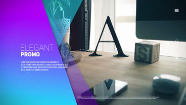 Elegant Promo After Effects Template