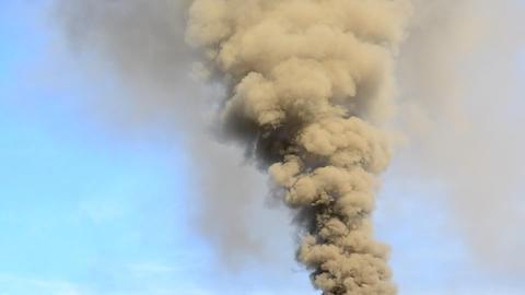 Smoke air pollution Archivo