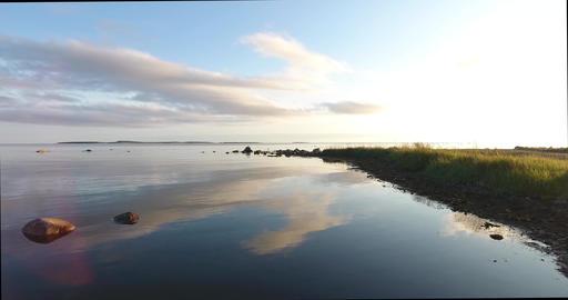 White Sea coast, Solovki Islands ビデオ