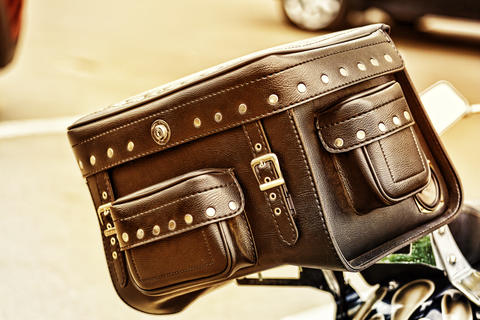 Trunk, Bags, Motorcycles, bike, braided, vintage, style フォト