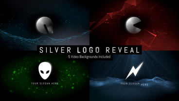 Silver Logo Reveal After Effects Template