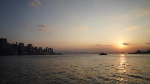 Hong Kong Victoria Harbour ビデオ