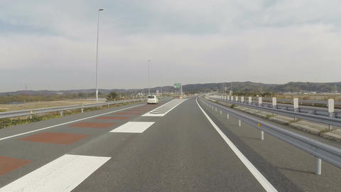 Kisarazu east exit, one of the most popular highway exits for golfers heading to Footage