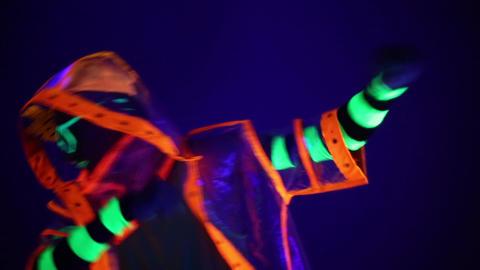 The man in the neon costume Archivo