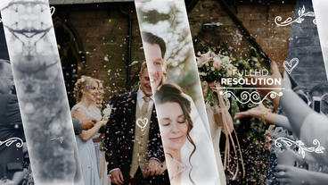 Wedding Slideshow Premiere Pro Template