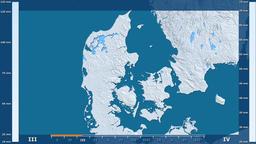 Denmark - precipitation, raw data Animation