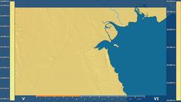 Kuwait - solar radiation, raw data Animation