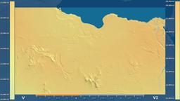 Libya - solar radiation, raw data Animation
