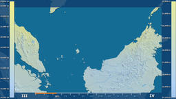 Malaysia - solar radiation, raw data Animation