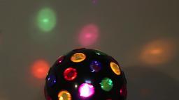 Multicolored ball 2 (upper part turning) ビデオ