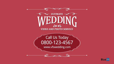 Wedding Video Photo Service After Effects Template