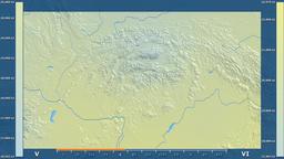 Slovakia - solar radiation, raw data Animation