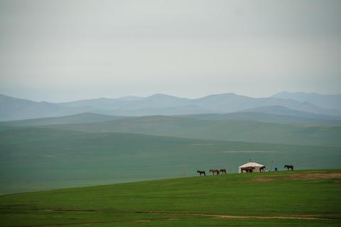 Mongolia Ulanbatro city フォト