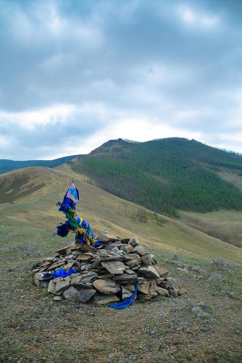 shamanism Mongolian tradition フォト