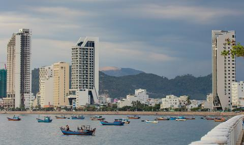 Holiday Resort Nha Trang Vietnam Harbour Coastline フォト