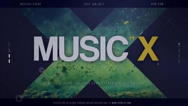 Music X Premiere Proテンプレート