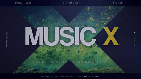 Music X Premiere Pro Template